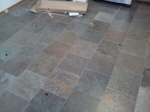 VINYL TILE AND STRIP FLOOR VINYL, SHEET GOODS INSTALL Windsor Region Ontario image 1