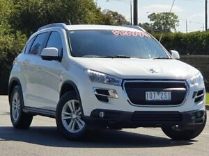 2015 Peugeot 4008 MY15 Active 2WD White 5 Speed Manual Wagon Wodonga Wodonga Area Preview