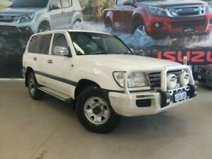 2005 Toyota Landcruiser HDJ100R Upgrade GXL (4x4) White 5 Speed Automatic Wagon Rockingham Rockingham Area Preview