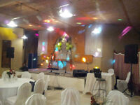 Sound system rental (PA, subwoofers, amps and lighting)