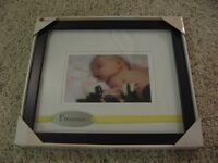 Baby picture frame (brand new, still in box!)