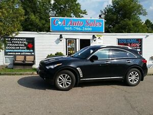2010 Infiniti FX35 FINANCE FOR $149 BI WEEKLY FOR 60 MONTHS $100