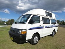 Toyota Hiace High Top Camper – GREAT VALUE Glendenning Blacktown Area Preview