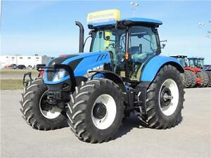 2015 New Holland T6.180 Plus MFWD tractor w/855TL