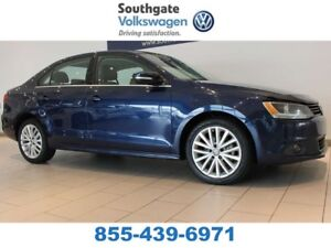 2012 Volkswagen Jetta Sedan SUNROOF | LEATHER | HEATED SEATS | B