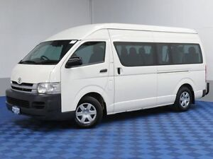 2008 Toyota Hiace KDH223R MY07 Upgrade Commuter White 4 Speed Automatic Bus Jandakot Cockburn Area Preview