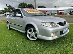 2002 Mazda 323 BJ II SP20 Grey 5 Speed Manual Hatchback Ferntree Gully Knox Area Preview