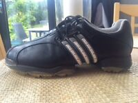 Men's Adidas Tour360 Golf Shoes in size 7.In mint condition.