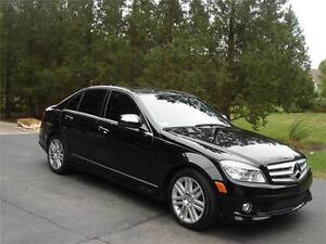 2009 MERCEDES BENZ C-300 4MATIC AMG