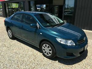 2008 Toyota Corolla   ZRE152R Blue 4 Speed Automatic Sedan Biggera Waters Gold Coast City Preview