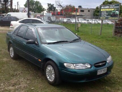 1998 Ford Falcon EL GLi Green 4 Speed Automatic Sedan Hastings Mornington Peninsula Preview