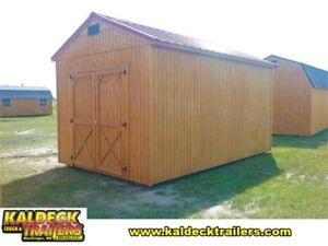 Old Hickory 10x16 Utility Shed (8' Walls)