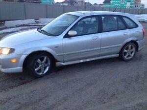2003 Mazda Protege Hatchback for Quick Sale