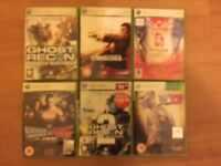 X Box 360 Console with 17-games