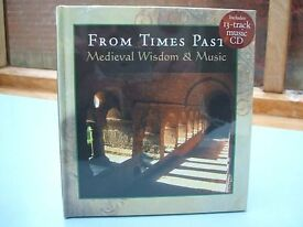 From Times Past: Medieval Wisdom & Music Book + 13 Track CD Gregorian Chant