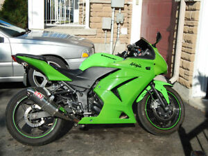 EXCELLENT CONDITION 2008 KAWASAKI NINJA 250R