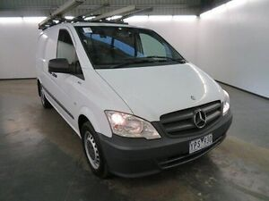 2011 Mercedes-Benz Vito MY11 113CDI SWB White 5 Speed Automatic Van Albion Brimbank Area Preview