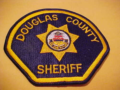 DOUGLAS COUNTY COLORADO POLICE PATCH SHOULDER SIZE UNUSED