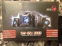 NEED GONE ASAP Genius GX Gaming SW-G2.1 2000 Surround system £35