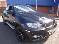 61 BMW X6 40D XDRIVE DIESEL AUTO 4X4 *NAV*REV CAM*DVD*HEATED LEATHER*