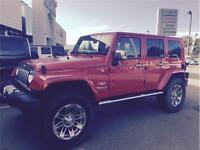 2010 Jeep Wrangler Sahara-LIFTED w/Only 54k kms Just $275 BW!!!