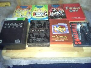 Dvd- xbox game and prints for sale