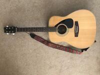 Classic Yamaha FG160 acoustic guitar