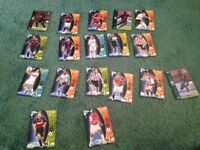 Various Shoot Out/Champions League Football Cards