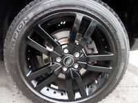Range Rover Alloy Wheels in Black - FREE UK DELIVERY!