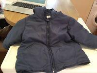 Navy Blue Petit Bateau Coat aged 18 Months