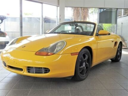2000 Porsche Boxster 986 MY00 S Yellow 6 Speed Manual Convertible Moorooka Brisbane South West Preview