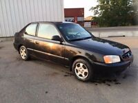 2000 Hyundai Accent Coupe (2 door) for sale ASAP