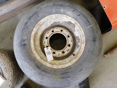 11l-15 Sl Goodyear 8 Ply Farm Utility Tire On 8 Lug Rim Tag 566
