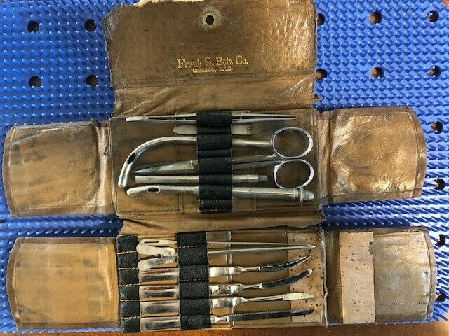 Antique Medical Surgical Instruments-Frank Betz, Chicago, USA