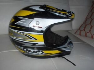HJC CS-X2 Size X-Large Dirt Bike / A T V Helmet - Yellow
