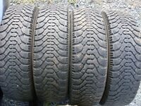 P175/70R14 Goodyear Nordic winter tires with studs