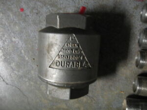 Stainless steel fittings and check valve Gatineau Ottawa / Gatineau Area image 2