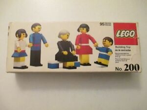 RARE 1976 LEGO #200 - COMPLETE WITH BOX