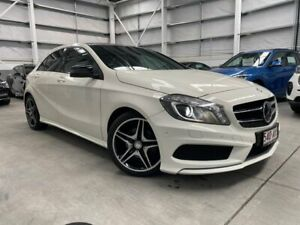 2014 Mercedes-Benz A-Class W176 A200 D-CT White 7 Speed Sports Automatic Dual Clutch Hatchback Southport Gold Coast City Preview