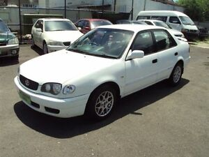 2000 Toyota Corolla AE112R Conquest White 4 Speed Automatic Sedan Punchbowl Canterbury Area Preview