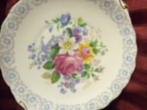 "Royal Albert ""Fragrance"" Cake Plate"