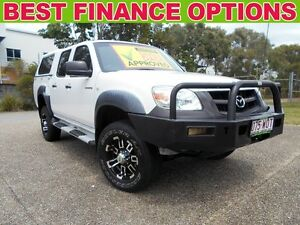 2010 Mazda BT-50 09 Upgrade DX White 5 Speed Automatic Utility Underwood Logan Area Preview