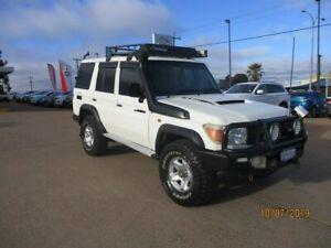 2011 Toyota Landcruiser VDJ76R MY10 Workmate White 5 Speed Manual Wagon South Kalgoorlie Kalgoorlie Area Preview
