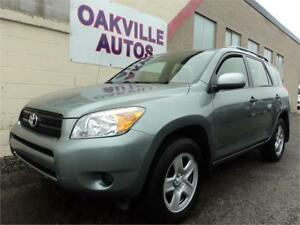 2008 Toyota RAV4 Base 4WD LOW KM SAFETY WARRANTY INCL