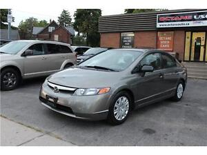 2007 Honda Civic Sdn DX-G  **2 YEARS WARRANTY INCLUDED**