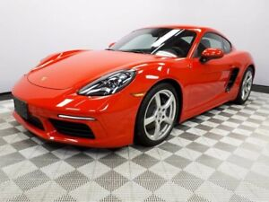 2017 Porsche 718 Cayman CERTIFIED PRE-OWNED