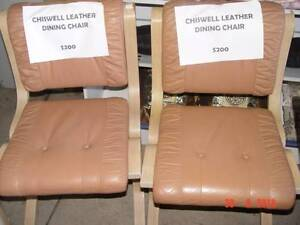 Chiswell Leather Chairs Virginia Brisbane North East Preview