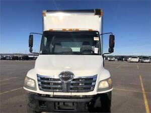 2007 Hino 185 - Cube 16 Ft Box - Diesel- Straight Truck
