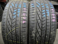 275/35/20 Goodyear, BMW, Runflat x2 A Pair, 6mm (168 High Rd, Romford, RM6 6LU) 225 245 40 45 315 19
