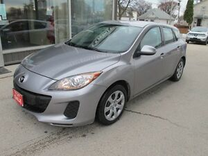 2012  Mazda 3 automatic hatchback  165,000 k  NOW $7495